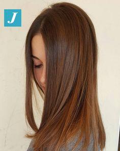 La bellezza firmata joelle!!!!!!#cdj #degradejoelle #tagliopuntearia #degradé #igers #musthave #hair #hairstyle #haircolour #longhair #ootd #hairfashion #madeinitaly #wellastudionyc
