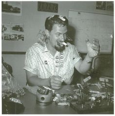 "Ed ""Big Daddy"" Roth (3/4/32 – 4/4/01) is synonymous with SoCal's Kustom Kulture & Hot Rod craze of the late 1950s & 60s. He had a deep bag of tricks– an all around renaissance man skilled as a barber, cartoonist, display merchant for Sears, and expert auto painter / customizer."