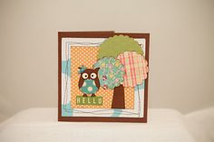Adorable owl card by 2craftyowls on Etsy, $4.00