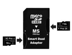 Buy 3C Pro 32GB 32G (16GB x 2) Class 4 microSD microSDHC Card with Dual MicroSDHC to Memory Stick MS Pro Duo Adapter - Retail Special offers - http://topprintersink.com/buy-3c-pro-32gb-32g-16gb-x-2-class-4-microsd-microsdhc-card-with-dual-microsdhc-to-memory-stick-ms-pro-duo-adapter-retail-special-offers