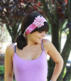 fashionartprojects.com - Quick & Easy Flirty Headband using @Simply Spray