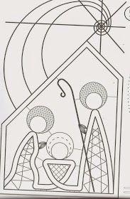 Encajeras la Hilandera: Picado Navideño Bobbin Lace Patterns, Tatting Patterns, Lace Jewelry, Beaded Jewelry Patterns, Victorian Christmas Decorations, Catholic Crafts, String Art Patterns, Point Lace, Quilling Art