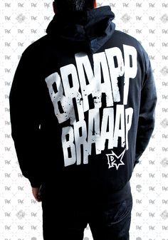 Pimpstar Lifestyle & Clothing Zip Hoodie Braapp