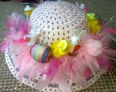 Easter Bonnet —  (800x639) Special Day, Picnic, Birthdays, Crochet Hats, Anniversary, Teddy Bear, Easter, Holidays, Halloween