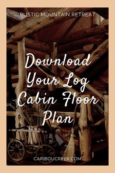 Choose the log home floor plan that is right for you! #cariboucreekloghomes #loghomedesign #logcabinfloorplans Log Cabin Floor Plans, House Floor Plans, Timber Frame Homes, Timber House, Plan Design, Design Ideas, Cabin Interior Design, Lakeside Cabin, Log Home Designs