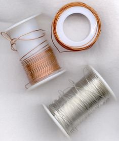 Jewelry making blog...this pin explains wire working.