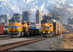 RailPictures.Net Photo: UP 6781 Union Pacific GE AC4400CW at Salt Lake City, Utah by James Belmont
