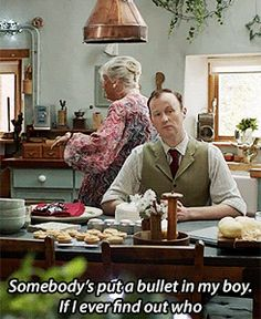 I wonder if Mycroft knows. Of course he knows. Look at his face. He knows everything.