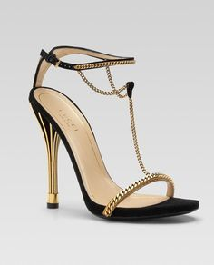 Gucci Spring 2012 Double Ankle Strap T Sandal
