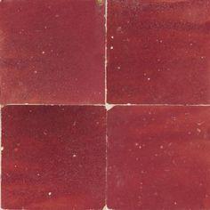 Zellige Rouge 10x10cm