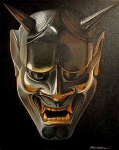hannya mask 般若 Totally going to make one of these