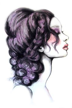 Lilac Art Print by Paper&Ink
