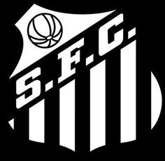 Santos of Brazil crest. Top Soccer, Soccer Logo, Sports Logo, Soccer Teams, Football Soccer, Soccer World, World Football, Football Team Logos, Football Cards