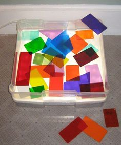Scraps of Plexiglass