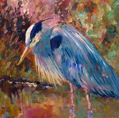 """Stalking"" - Original Fine Art for Sale - © Melissa Gannon"