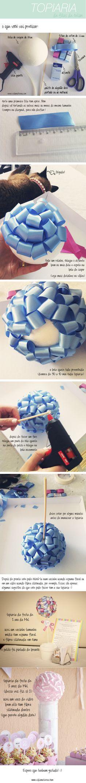 tutorial topiaria de fitas_vidamaterna.com