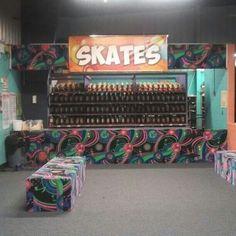 Lots of Rental Skate at Millennium Skate World