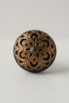 Sewing table? Lace-Strewn knob by Anthro.