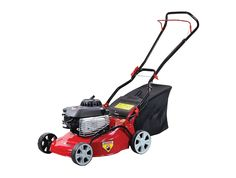 "The CAMON Taurus 41 is an 19"" push steel deck rotary mower powered by a reliable recoil start, 148cc Briggs & Stratton engine. The wheels are fitted with bearings for longer life and the cutting height can be adjusted through 6 positions from 2.5cm through to 7.5cm. The cutting height adjustment is made by moving just one lever. A bag size of 45 litres means that we recommend this lawn mower for small to medium sized gardens.  Price £322.80"