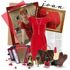 Joan Holloway character from Mad Men,  on Polyvore