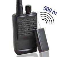 Abhörgeräte Komplettset für Reichweiten bis 500 mtr. bei www.abhoergeraete.com Walkie Talkie, Audio
