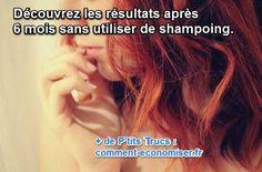 Lorsque j'ai commencé à me laver les cheveux au bicarbonate et au vinaigre, je voulais faire le test juste pendant 1 mois. Mais maintenant je ne peux plus m'arrêter !  Découvrez l'astuce ici : http://www.comment-economiser.fr/deja-6-mois-sans-shampoing-mon-avis-sur-cette-experience.html?utm_content=bufferea91e&utm_medium=social&utm_source=pinterest.com&utm_campaign=buffer