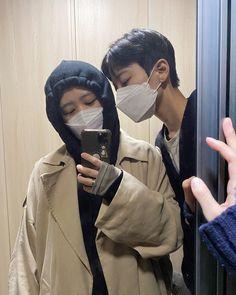 Cute Couple Drawings, Cute Couple Pictures, Korean Couple Photoshoot, She Drama, Ulzzang Couple, Couple Aesthetic, Future Boyfriend, Korean Girl Groups, Couple Goals