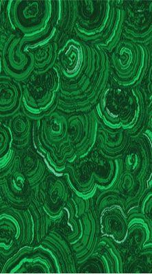 malachite -- #emerald green