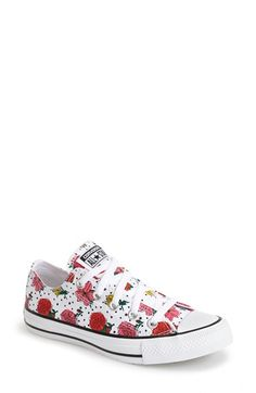 199aa2d2652 Converse Chuck Taylor® All Star® Floral Polka Dot Low Top Sneaker (Women)