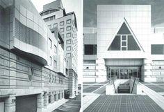 1983 Tsukuba Center [Arata Isozaki]