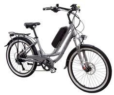 EG MAUI 500 EX ELECTRIC CRUISER BICYCLE BIKE-48V/10AH BATTERY & 500W MOTOR-GRAY #EGBike
