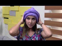 Turbante em trico por Vitoria Quintal Parte 1 - YouTube