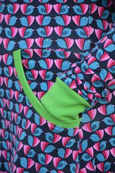 Foliis dress pocket
