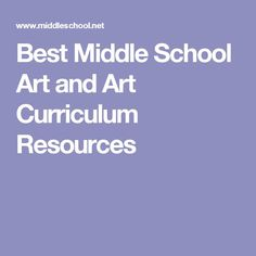 The only site educators, parents and students will want to use. Quality, free art curriculum, and professional resources for the entire curriculum available. Curriculum Mapping, Curriculum Planning, Art Curriculum, Lesson Planning, Art Education Lessons, Art Lessons Elementary, School Lessons, Best Art Schools, School Art Projects