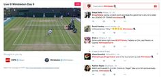 Twitter started its live coverage of Wimbledon today | TechCrunch
