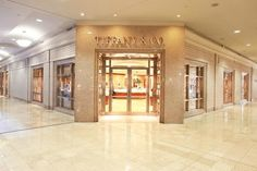 Tiffany & Co. is another luxury brand at Phipps Plaza.