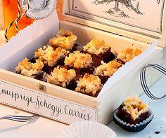 Knusprige Schoggi-Carrées: Mit diesen #Schokolade-Guetzli wirst du punkten! #Rezept #Backen #Guetzli