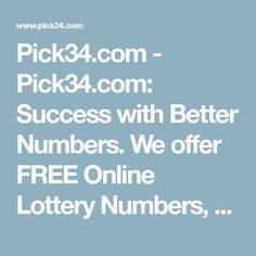 1498 Best LOTTERY images in 2019 | Winning the lottery