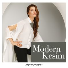 Modern ve şık. #moda #trend