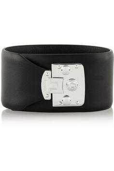 Gucci|Leather bracelet|NET-A-PORTER.COM