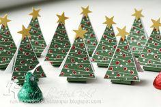 Little Christmas Tree Tents by RunningwScissorsStamper