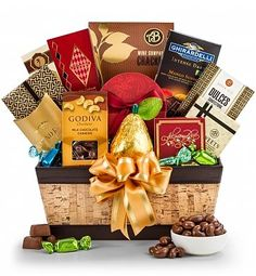 Chocolate Shipped in the Summer, packaged to NOT melt! Gourmet Chocolate Extravagance Gift: A decadent sampling of fine chocolates and savory delights make this a gift anyone would be thrilled to receive.