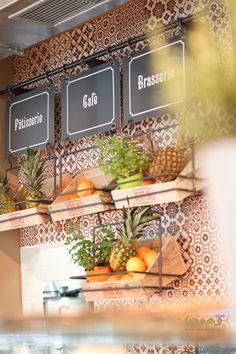 #patisserie #brasserie #coffeshop #fruitbar #interiordesign #juicebar Croissants, Coffee Wine, Coffee Shop, Juice Cafe, Sandwiches, French Bistro, Wine Lover, Toast, Bar