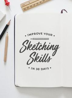 On the Creative Market Blog - How to Improve Your Sketching Skills in 30 Days