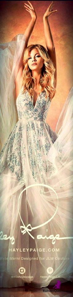 Hailey Paige, Bridal 2017, Glitter, Silver