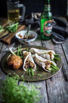 Asian style roast pork pancakes | heneedsfood.com