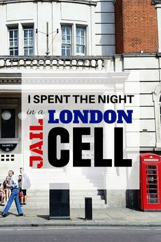 How I came to spend the night in a London jail cell... Yes tis actually happened! Don't worry... it was actually just a VERY unique hostel experience. Take a look at what I slept in when you read this review of Clink78 Hostel in London...