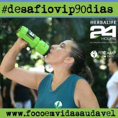 #desafiovip90dias da #herbalife você na sua melhor forma! #focoemvidasaudavel . Topa encarar? Pergunte-me como: focoemvidasaudavel.com.br
