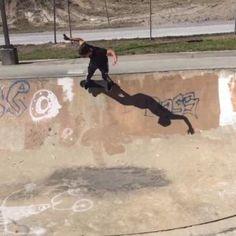 Chasing shadows around the bowl  Martin Farias #Featured #Shuttographer #StaffPick #SkateBoarding #skatelife #skate