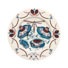 Medium Blue Plate by Iittala Blue Plates, Fresh Coffee, Dinnerware, Decorative Plates, Objects, Porcelain, Pottery, Ceramics, Mugs